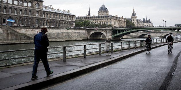 Les quais de Seine lors