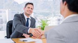 Cette image d'illustration d'entretien d'embauche vaut (aussi) le