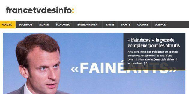 Les cyber-militants Insoumis contraints de fermer leur site parodique de France