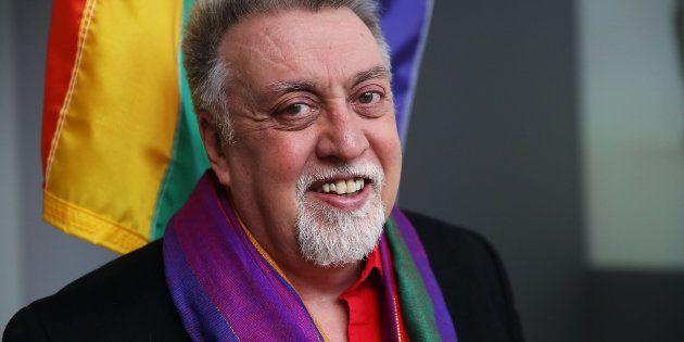 Gilbert Baker à New York le 7 janvier