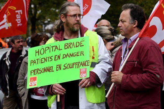 Manifestation du 10 octobre: les images de la grève des
