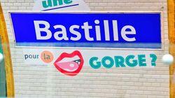 La RATP détourne les noms des stations de métro pour le 1er