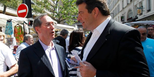 Non, Thierry Solère - ici en juin 2012 - n'a pas été espionné par les services secrets quand il était...