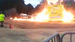 Les images impressionnantes de l'explosion au carnaval de
