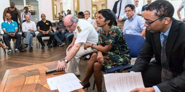 Le collectif de Guyanais rejette le plan de la ministre et exige 2,5 milliards