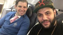 Ce comédien musulman était assis à côté d'Éric Trump dans l'avion, et il avait des choses à lui