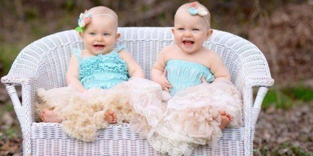 Âgées de presque deux ans, Maddie et Scarlett réinterprètent régulièrement la scène du film de