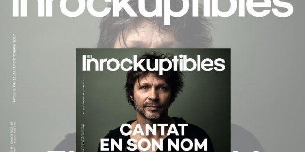 Le chanteur Bertrand Cantat en couverture
