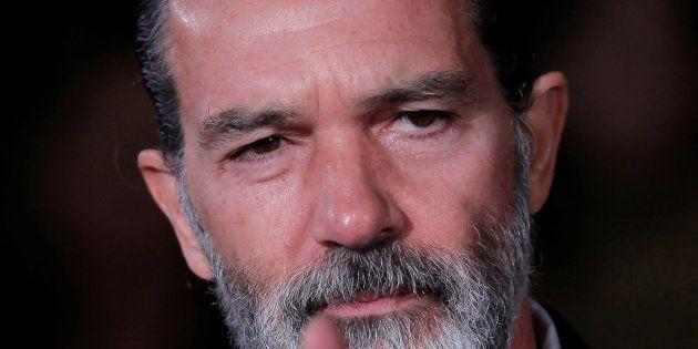 Antonio Banderas au Festival du cinéma de Malaga le 25 mars