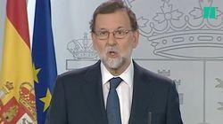 Rajoy a demandé très officiellement à Puidgemont s'il avait oui ou non