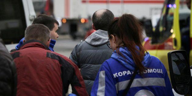 Évacuation du métro de Saint-Pétersbourg après l'explosion survenue lundi 3
