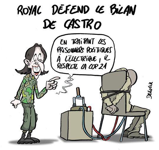Pourquoi Ségolène Royal fait l'éloge de Fidel