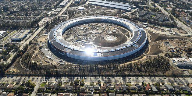 Apple a-t-il réussi à construire les meilleurs bureaux du monde? REUTERS/Noah