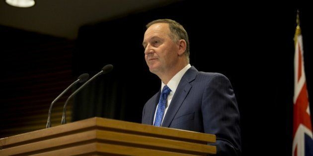 John Key, premier ministre de la Nouvelle-Zélande, a surpris tout le monde en annonçant sa