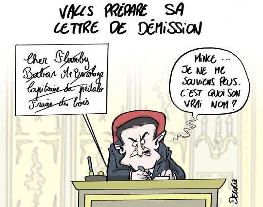 On sait pourquoi la lettre de démission de Valls se fait