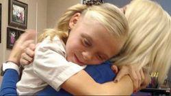 La réaction de cette fillette quand elle apprend qu'elle est adoptée est belle à