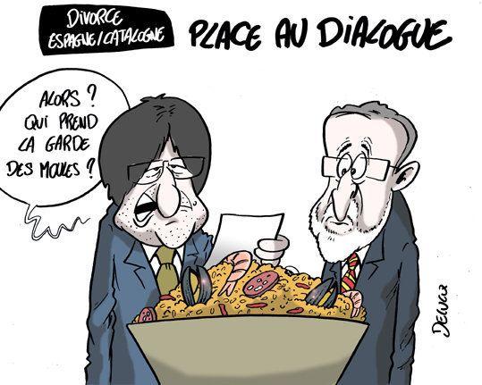 Le divorce à la catalane, le pire de