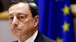 Les marchés suspendus à l'action de Mario Draghi, patron de la BCE et incarnation du rejet des