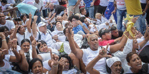 Ségolène Royal défend la vision cubaine des droits de l'Homme, pourtant en 2015, la France a accueilli...