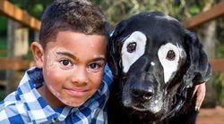 Ce chien a donné confiance à ce petit garçon atteint de