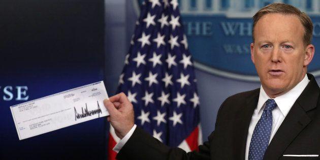 On sait à qui Trump va donner son salaire de président (et ça ne doit pas lui