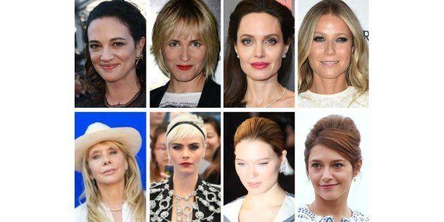 Parmi les victimes de Harvey Weinstein: Asia Argento, Judith Godreche, Angelina Jolie, Gwyneth Paltrow,...