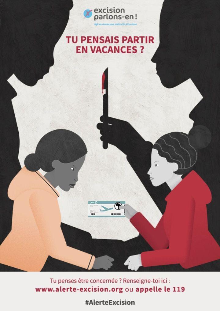 L'une des affiches de la campagne lancée en mars