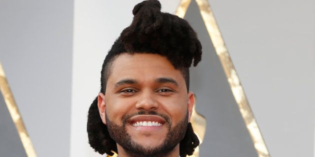 The Weeknd avec son ancienne coupe