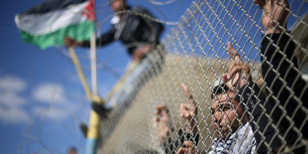 Un plan de paix juste entre Israël et Palestine, c'est possible!. REUTERS/Ibraheem Abu Mustafa TPX IMAGES...