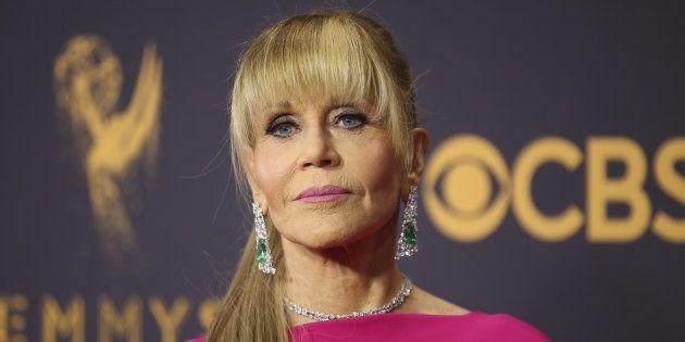 Jane Fonda à Los Angeles le 17 septembre