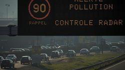 Pollution: seuls les véhicules pairs sont autorisés à rouler ce mardi en région