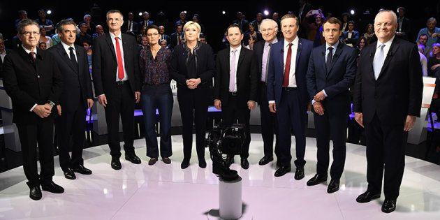 Revivez le grand débat BFMTV / CNews de la présidentielle