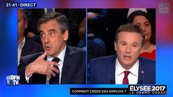Le clash Fillon - Dupont-Aignan sur les traités