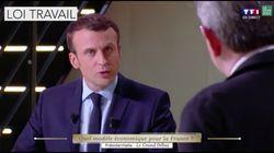 Cette vidéo de Macron lors du débat précédent a bien inspiré François