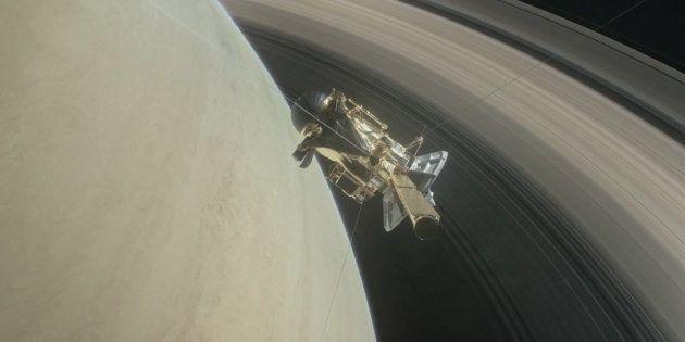 Pour annoncer la chute vers Saturne de sa sonde Cassini, la Nasa a sorti une bande annonce digne d'un