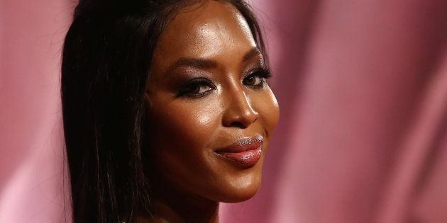 Naomi Campbell au British Fashion Awards