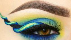 La dernière tendance maquillage? Le eyeliner