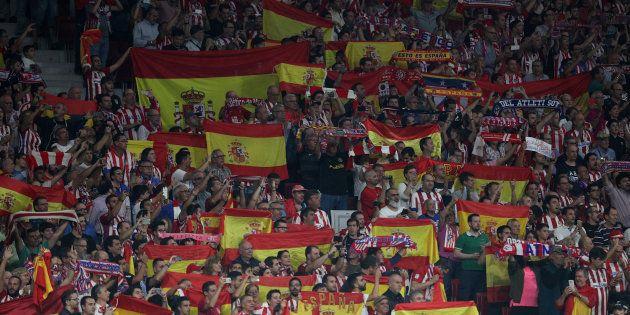 Atlético Madrid-FC Barcelone: le public madrilène chante