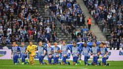 Le geste fort du Hertha Berlin, genou à terre contre le