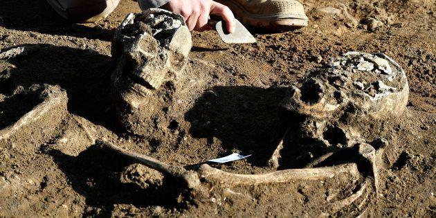 Des centaines de squelettes datant de l'Antiquité découverts à