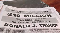 Larry Flynt offre 10 millions de dollars à qui permettra de destituer