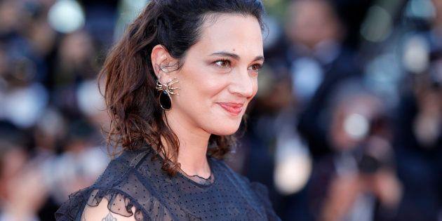 Asia Argento à Cannes, le 17