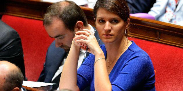 Marlène Schiappa le 4 octobre à l'Assemblée