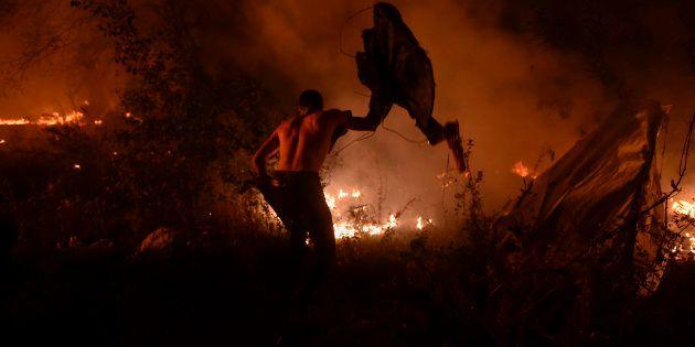 Des incendies en Espagne et au Portugal font des dizaines de