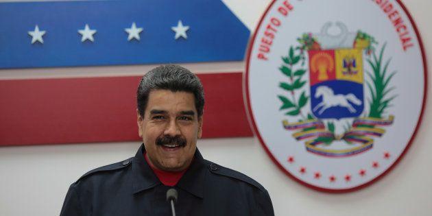 Nicolas Maduro à Caracas le 15 octobre