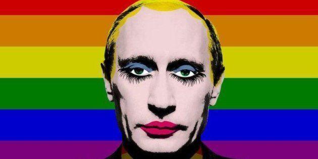 Symbole de protestation contre l'homophobie du régime russe, cette image a été ajoutée à la liste des...