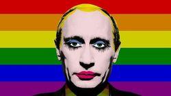 La Russie interdit cette photo de Poutine (et depuis, tout le monde la