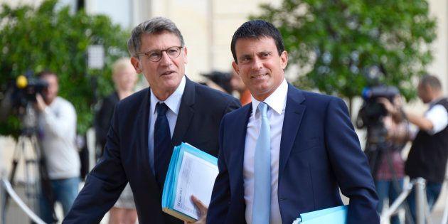 Vincent Peillon et Manuel Valls devraient s'affronter à la
