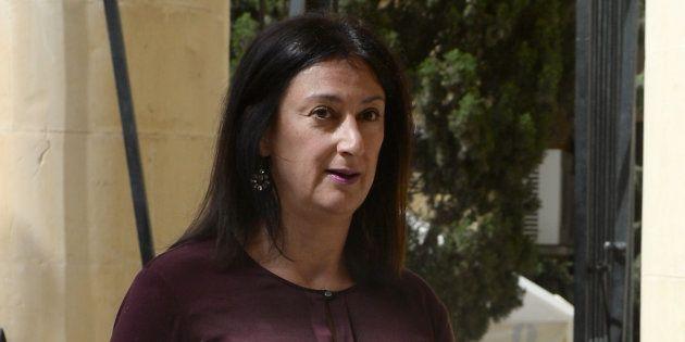 Daphne Caruana Galizia, une blogueuse qui avait accusé le gouvernement maltais de corruption,
