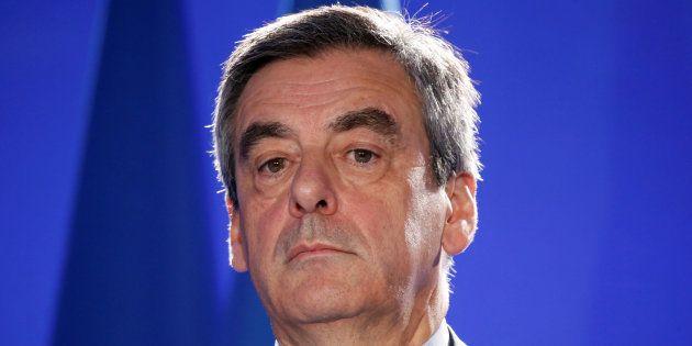 Francois Fillon, en réunion à Paris ce jeudi 6